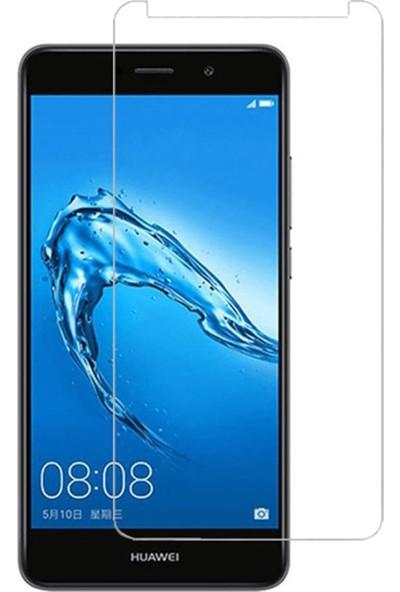 HerBütçeye Maxi Huawei Y7 Şeffaf Temperli Cam