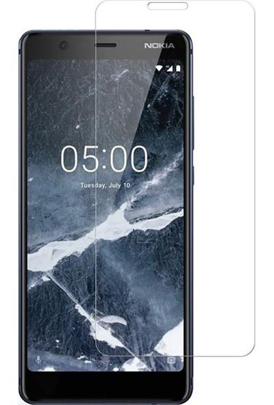 HerBütçeye Maxi Nokia 5.1 Plus Şeffaf Temperli Cam