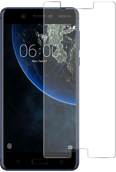 HerBütçeye Maxi Nokia 535 Şeffaf Temperli Cam