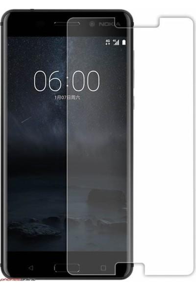 HerBütçeye Maxi Nokia 6 Şeffaf Temperli Cam