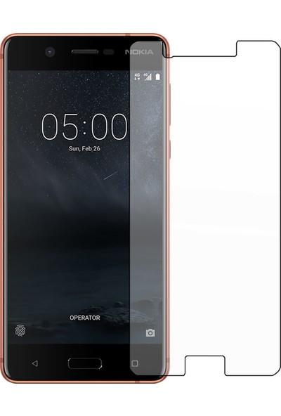 HerBütçeye Maxi Nokia 630 Şeffaf Temperli Cam