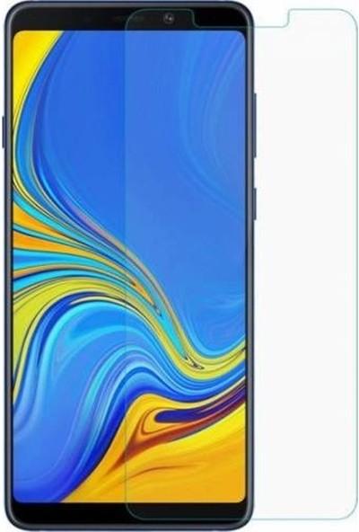 HerBütçeye Maxi Samsung Galaxy A9 2018 Şeffaf Temperli Cam