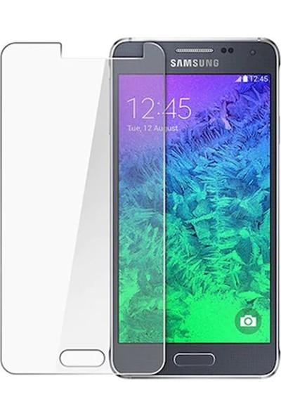 HerBütçeye Maxi Samsung Galaxy Alpha G850 Şeffaf Temperli Cam