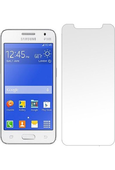HerBütçeye Maxi Samsung Galaxy Core 2 G355 Şeffaf Temperli Cam
