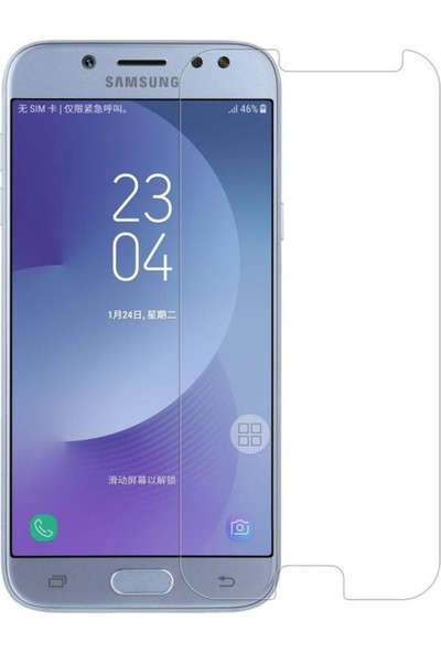 HerBütçeye Maxi Samsung Galaxy J5 2017 Şeffaf Temperli Cam