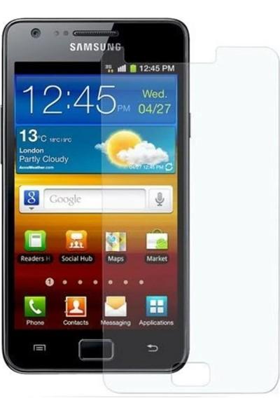 HerBütçeye Maxi Samsung Galaxy S2 I9100 Şeffaf Temperli Cam