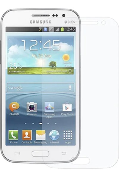 HerBütçeye Maxi Samsung Galaxy Win (I8552) Şeffaf Temperli Cam