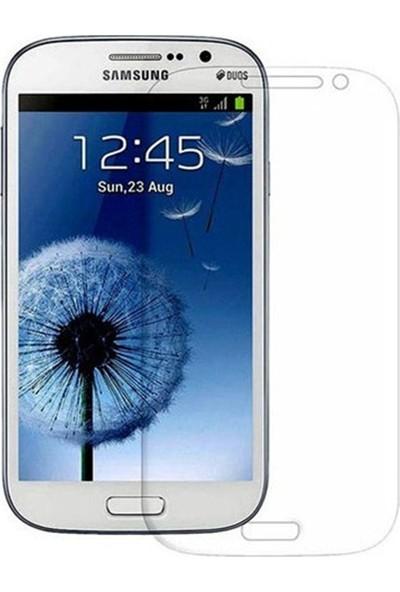 HerBütçeye Maxi Samsung Galaxy Grand Duos (I9082) Şeffaf Temperli Cam