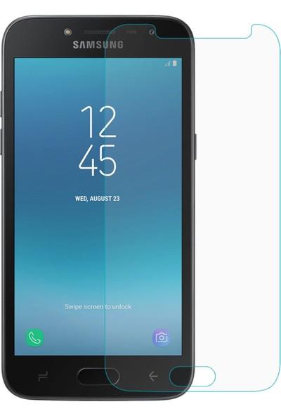HerBütçeye Maxi Samsung Galaxy J2 Pro 2018 Şeffaf Temperli Cam