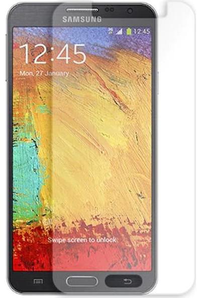 HerBütçeye Maxi Samsung Galaxy Note 3 Neo Şeffaf Temperli Cam