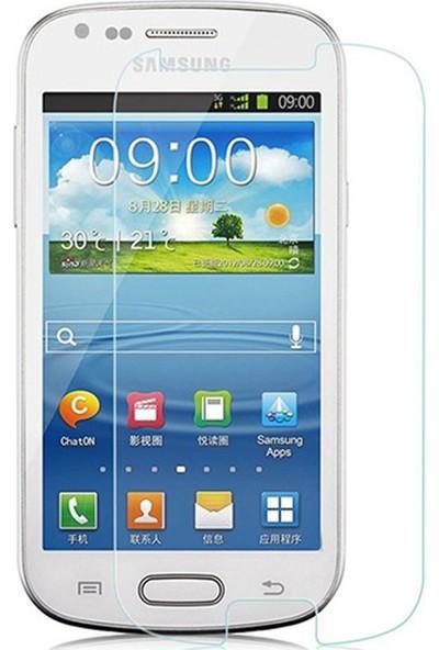 HerBütçeye Maxi Samsung Galaxy S3 Mini Şeffaf Temperli Cam