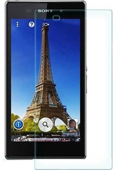 HerBütçeye Maxi Sony Xperia Z1 Şeffaf Temperli Cam