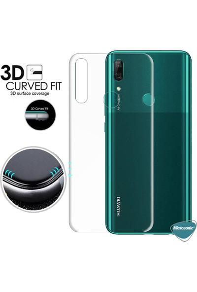 Microsonic Huawei P Smart Z Ön + Arka Kavisler Dahil Tam Ekran Kaplayıcı Film
