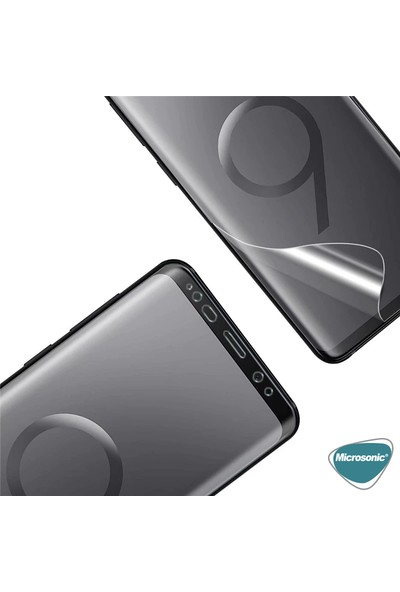 Microsonic Samsung Galaxy M10S Ön + Arka Kavisler Dahil Tam Ekran Kaplayıcı Film