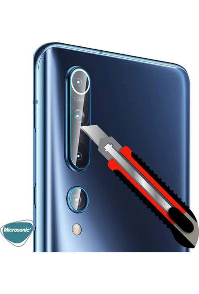 Microsonic Xiaomi Mi 10 Kamera Lens Koruma Camı