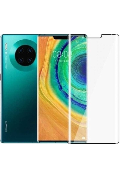 Telbor Huawei Mate 30 Pro Tam Kaplayan Ekran Koruyucu