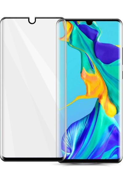 Telbor Huawei P30 Pro Tam Kaplayan Ekran Koruyucu Ince Kavisli