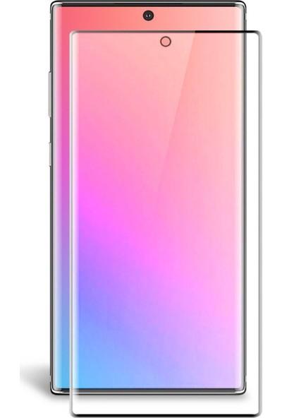 Telbor Samsung Galaxy Note 10 Tam Kaplayan Ekran Koruyucu Cam