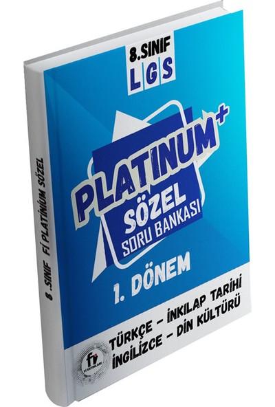 Fi Yayınları 8. Sınıf LGS Platinum Sözel Soru Bankası 1.Dönem