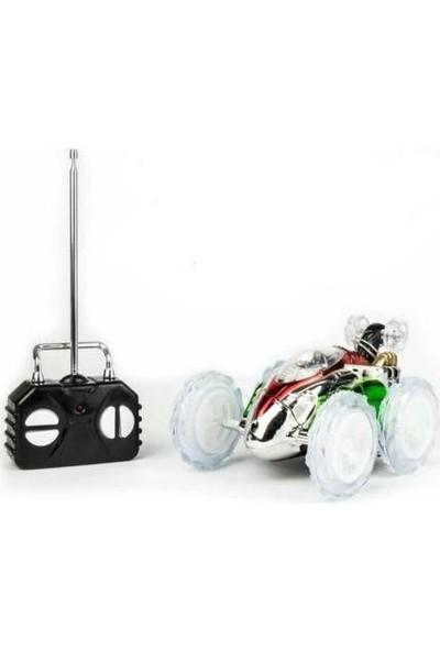 Furkan Toys Uzaktan Kumandalı Dasher Takla Atan Işıklı Araba - Yeşil