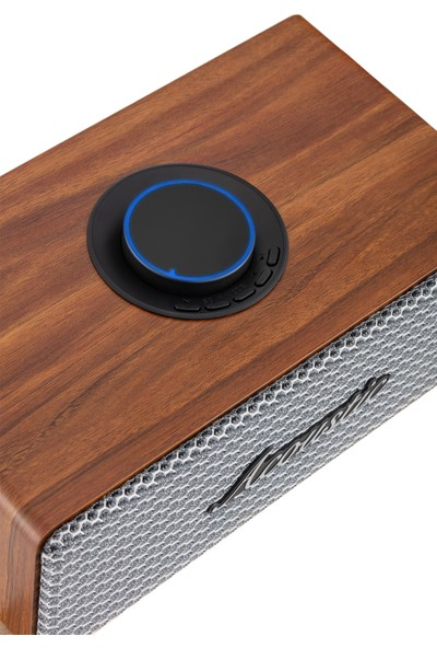 MF Product Acoustic 0170 20W Ahşap Kablosuz Bluetooth Speaker
