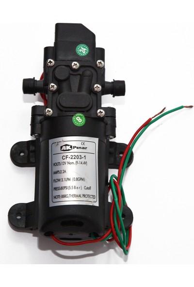 Akpınar Ilaç Pompası Motoru 12 V Diyafram Pompası