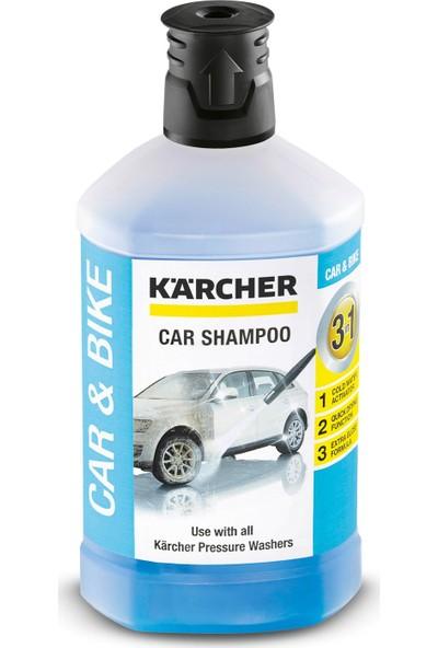 Karcher K3 Yüksek Basınçlı Yıkama + Köpük Atma Aparatı + Şampuan