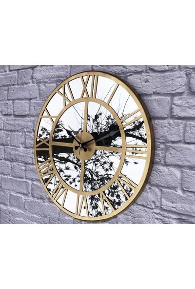 Markakanvas Aynalı Metal Duvar Saati MKS983AYNA