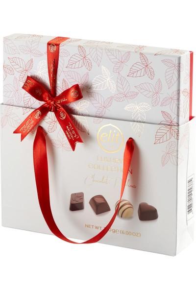 Elit Çikolata Gourmet Collection Spesiyal Çikolata Kırmızı Kutu 170g