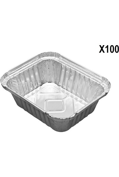 Bkr Alüminyum Kase 350 gr 100 Adet