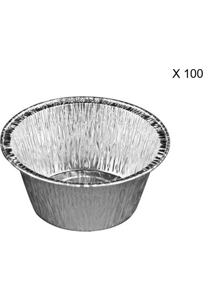Bkr Alüminyum Krem Karamel 211/G 100 Adet