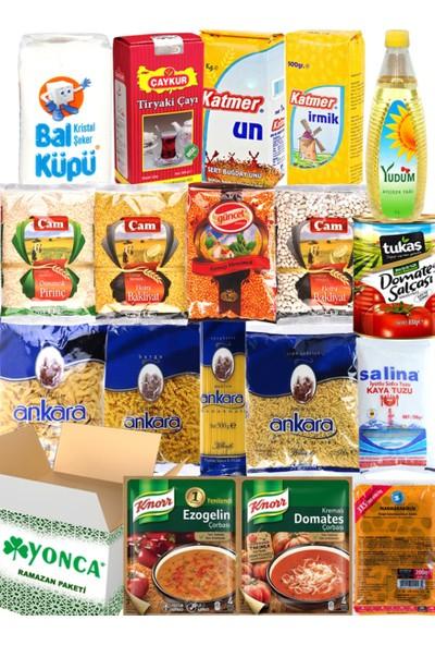 Ramazan Erzak Yardım Paketi Kolisi 2020 18 Parça No:5