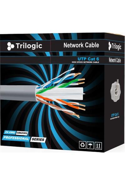 Trilogic CB62301 24 Awg Utp Ethernet Network Cat6 Kablo 305m