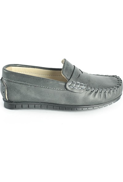 J Plus Baby Loafer Gri Çocuk Ayakkabı