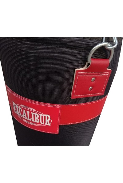 Excalibur Polystar 90 x 35 Boks Kum Torbası Siyah Eldivenli