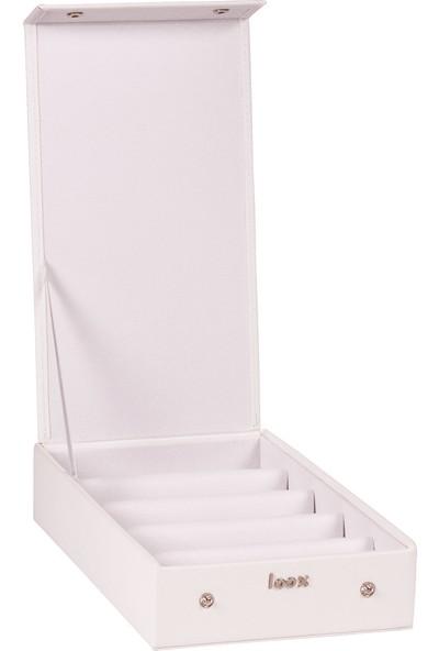 Loox Gifts Spica Gözlük Kutusu 5'li Beyaz