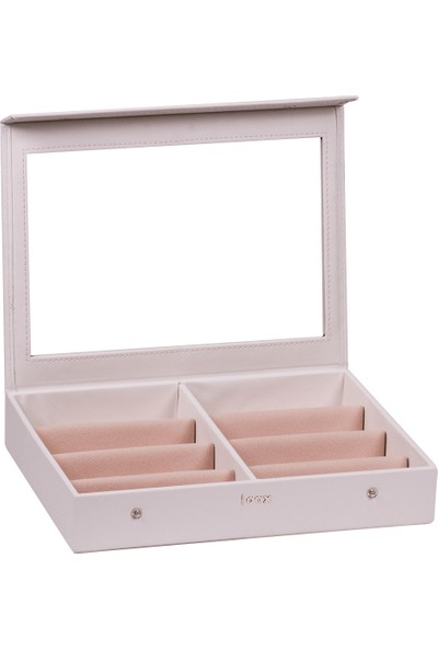 Loox Gifts Vega Gözlük Kutusu 8'li Beyaz