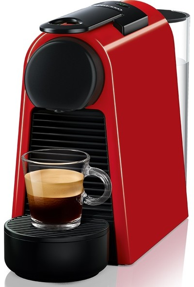 Nespresso Essenza Mini D30 Red Kahve Makinesi