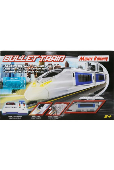 Hot Racing Oyuncak Tren Seti