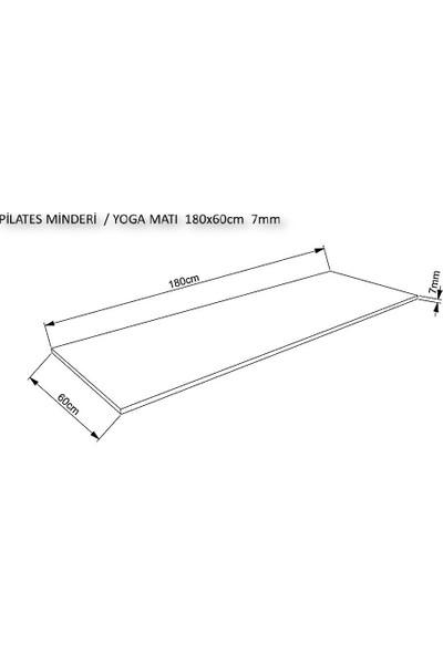 Akat Mat Yoga Minderi & Pilates Matı 180X60 7mm