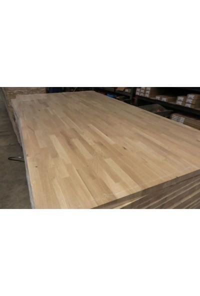 Woodlife Ahşap Plaka Masif Panel Meşe 40 x 60 x 1,8 cm
