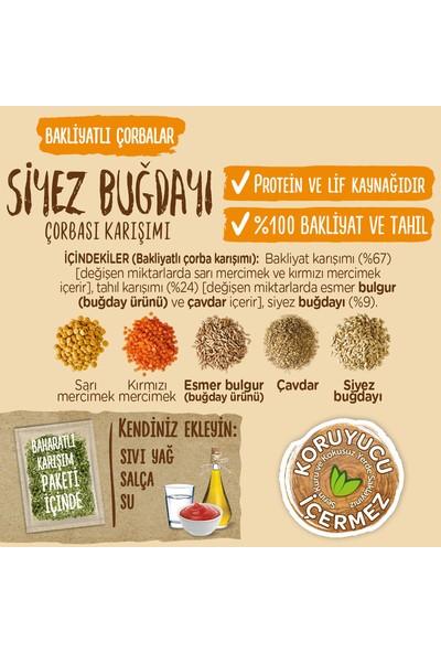 Bizim Mutfak Bakliyatlı Siyez Buğdayı Çorbası 107,5 gr 12'li Paket