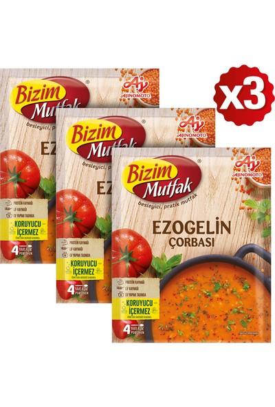 Bizim Mutfak Ezogelin Çorbası 80 gr 3'lü Paket