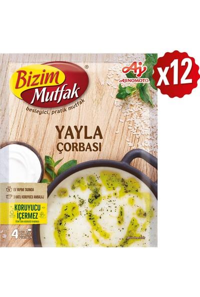 Bizim Mutfak Yayla Çorbası 80 gr 12'li Paket