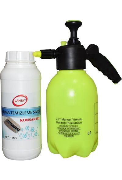 Lansy Klima Temizlik Seti Pompa + Temizleme Poşeti 3'lü
