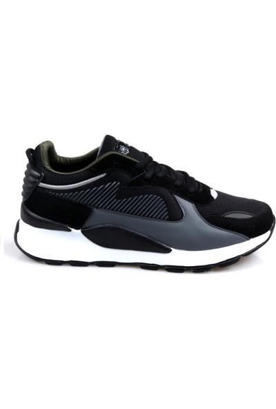 Ryt Dublin Memory Foam Taban Erkek Günlük Siyah Spor Ayakkabı