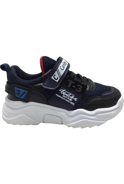 Carby 2002 Erkek Çocuk Spor Ayakkabı Lacivert