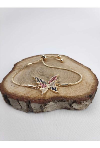 Markamindirim Kelebek Kadın Bileklik