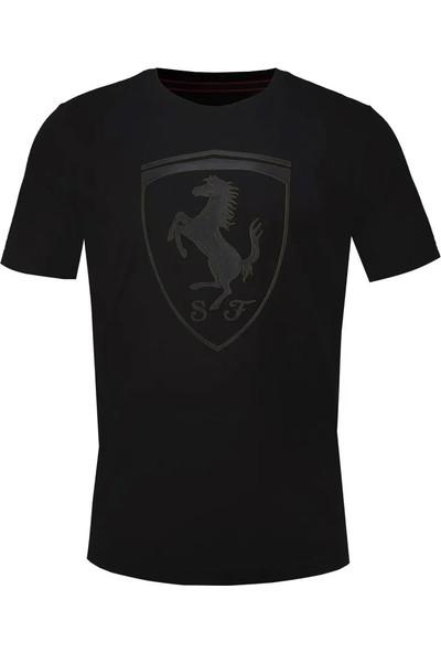 Puma Ferrari Big Shield Erkek Tişört 595554-02