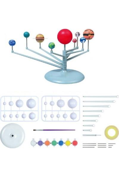 Misyon Güneş Sistemi Gezegenler Modeli Deney Seti 9'lu